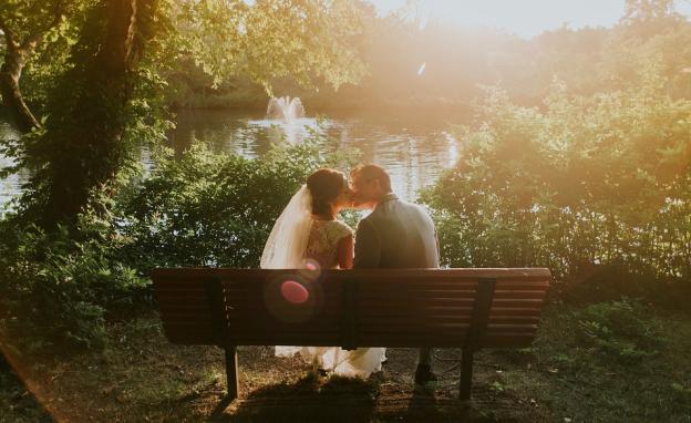 Hochzeit im Garten